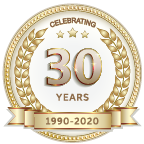 All Medical Personnel 30 Year Logo